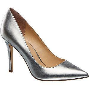 szpilki damskie Graceland srebrny