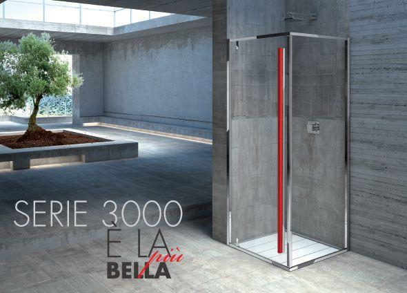 #Serie3000 di Box Docce 2B spa è una linea di #box #doccia interamente personalizzabile, #finiture, profili e maniglie. Rendi unico il #design della tua doccia e scegli lo #stile del tuo  #bagno www.gasparinionline.it #interiors #shower #bathroom #weloveit #bathroomdesign #homestyle