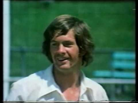 """Tooheys Draught (Australian ad) 1980. Tooheys Draught beer commercial from 1980 transferred from Philips VCR LP tape. This commercial featured a bunch of famous cricketers of the day in a cricket match and the jingle song was done by Mojo which they sing """"I Feel Like A Tooheys"""" (video length 0:59"""