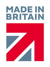 """All our own brand bathroom furniture is """"Made in Britain"""". We are very proud to have been awarded the Made in Britain marque."""