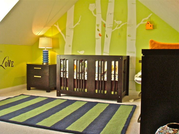 Boy Nursery Themes Forest Nursery Nursery And Babies - Baby boy forest nursery room ideas