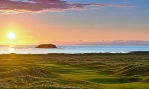 Groupon - Co. Donegal: 1 or 2 Nights for Two with Full Irish Breakfast and Wine at The Strand Hotel in The Strand Hotel Ballyliffin IE. Groupon deal price: £59