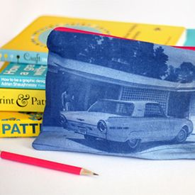 Learn how to make permanent photo prints on fabric.