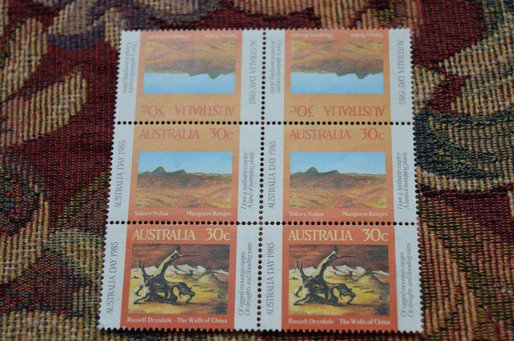 Australian Decimal Stamps:1985 Australia Day - block of six MNH | eBay