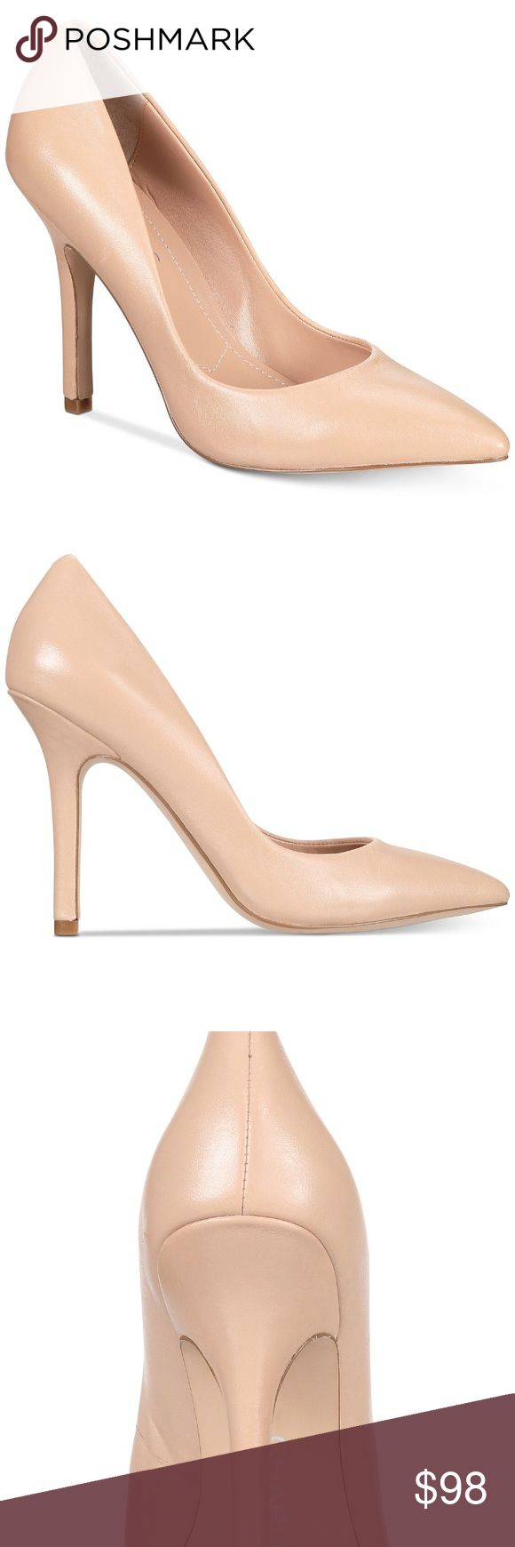 Charles David Nude Leather Maxx Pumps *new in box *produce details in one of the photos *no flaws  make me an offer! or click bundle and i can send you at a personal offer!  any questions? be sure to comment below! Charles David Shoes Heels