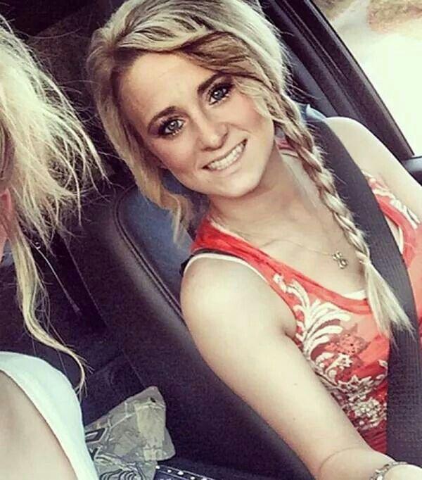 Teen mom's Leah. Adorable hair!!