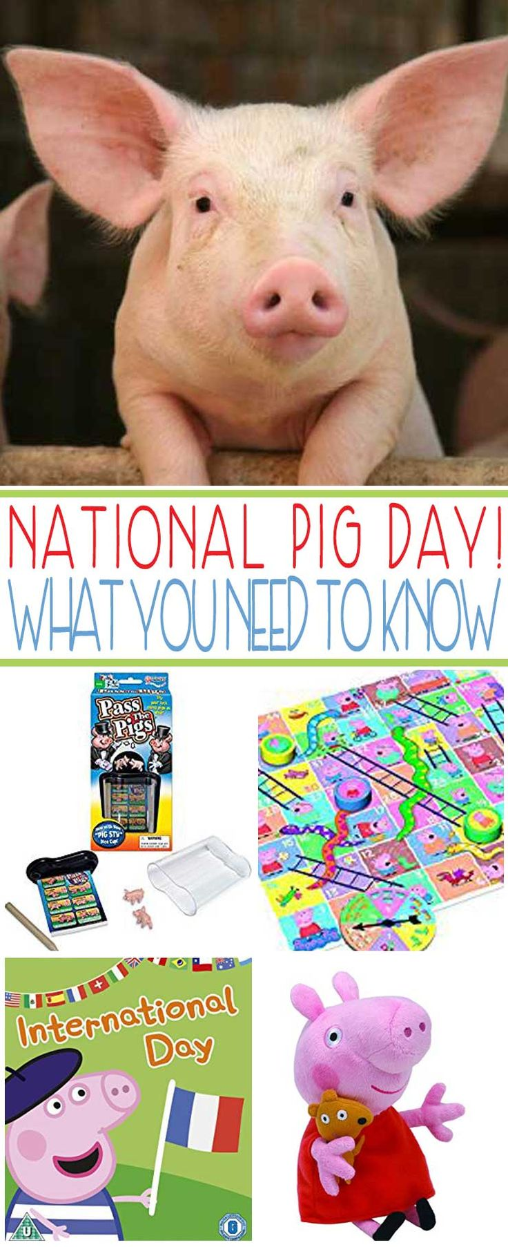 Thought you were familiar with all our nation's holidays? Get ready to ham it up on March 1st, in honor of National Pig Day.