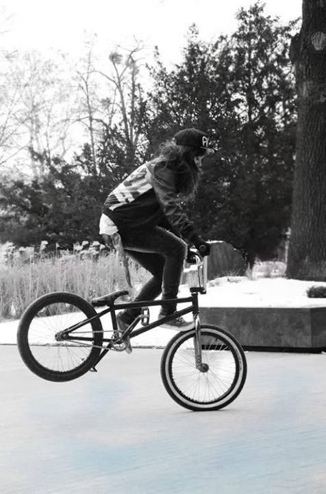 BMX lady and Bicycles Love Girls. http://bicycleslovegirls.tumblr.com/