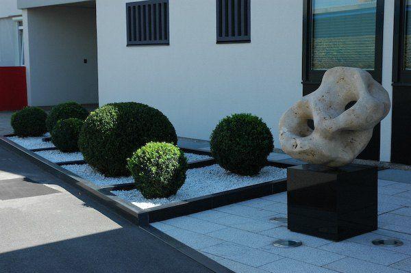Vorgarten modern | Hauseingang / Vorgarten | Pinterest ...