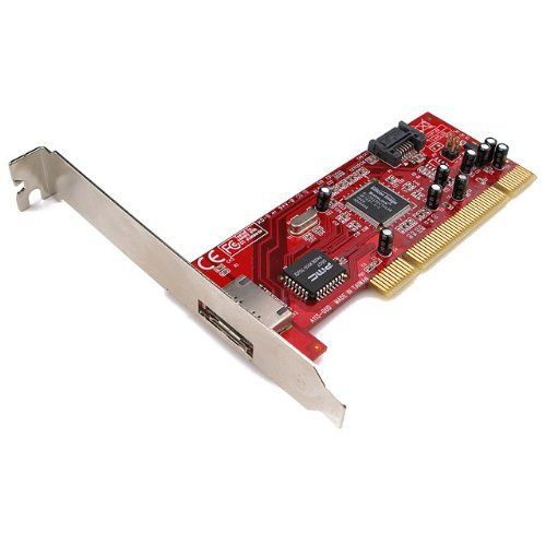 Rosewill RC-210 PCI SATA Controller Card by Rosewill. $19.99. Model    Brand: Rosewill    Model: RC-210Specifications    Type: SATA    External Ports: 1 x Serial ATA 150    Internal Connectors: 1 x Serial ATA 150    Interface: PCI    Transfer Rate: Dual high speed Serial ATA interface ports, each supporting 1st generation Serial ATA data rates 1.5Gb/s    Operating Systems Supported: Windows 98, Windows Millennium, Window...
