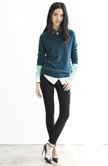 Equipment 'Sloane' Crewneck Cashmere Sweater | @Nordstrom