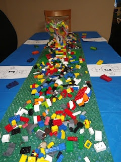 Lego Party! Easy and affordable ideas!