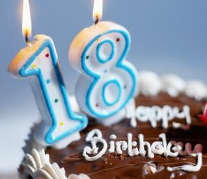 18th Birthday candles - Stockbyte/Getty Images