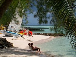 Grand Cayman, Cayman Islands - This looks to be Rum Point Beach - love it! Check!