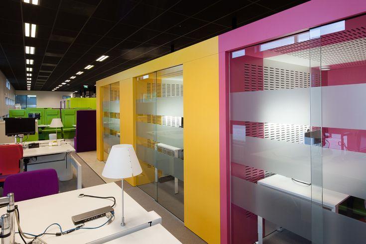 Interieur kantoren Stenden Hogeschool Leeuwarden 2008 – 2010 - Frans Tauber