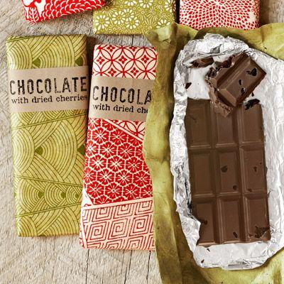 Tart Cherry and Dark Chocolate Bars Recipe - Country Living