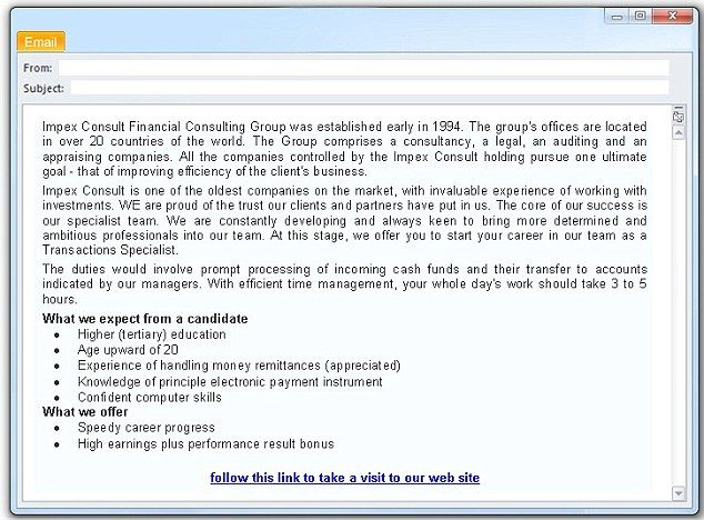 Fake Job Offer Emails Check More At Https Nationalgriefawarenessday Com 35525 Fake Job Offer Emails