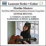 Martha Masters: Guitar Recital [CD], 08125811