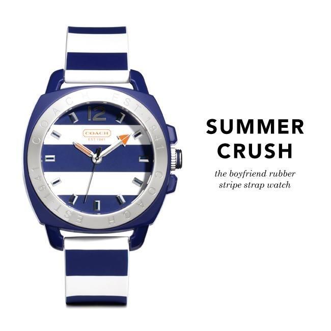 Coach summer crush watch