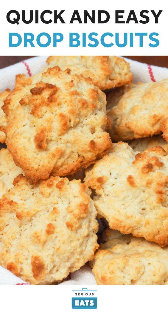 Quick And Easy Drop Biscuits Recipe Easy Drop Biscuits
