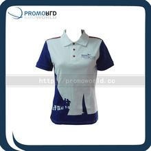 100% Cotton Women Polo Shirt With Contrast Panels best buy follow this link http://shopingayo.space