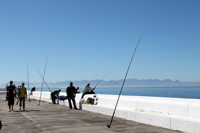 Fishing, Kalk Bay Harbour, Cape Town by flowcomm, via Flickr