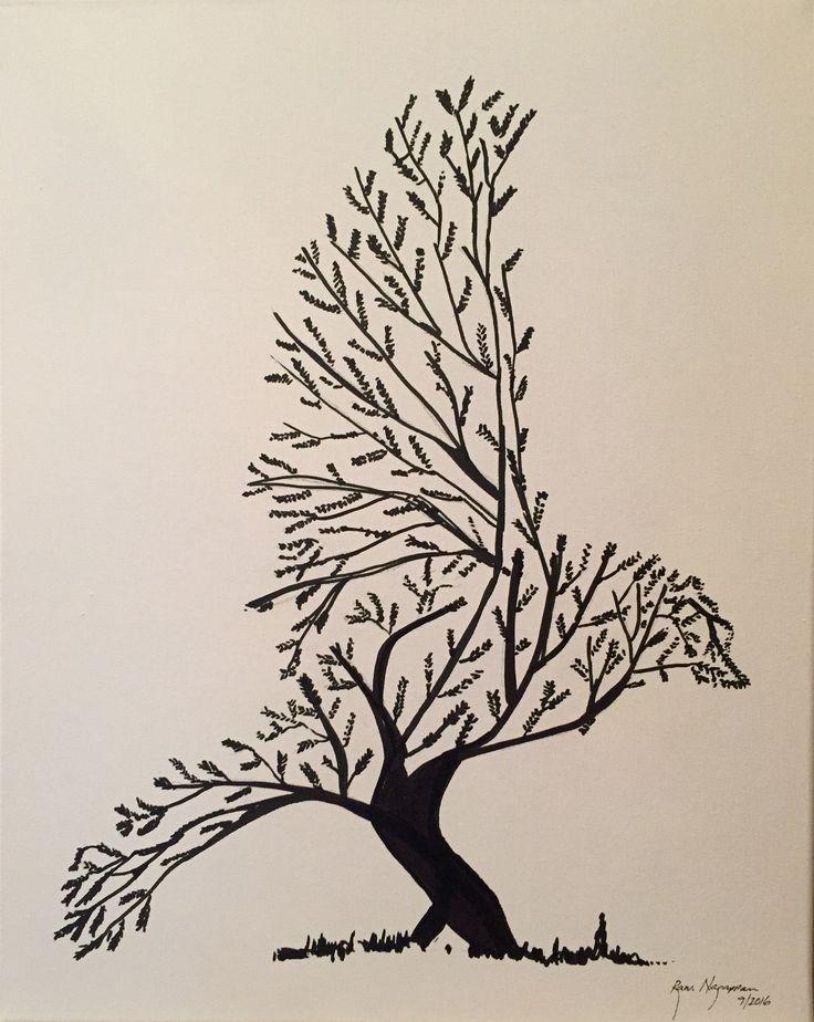 Baum Vogel!