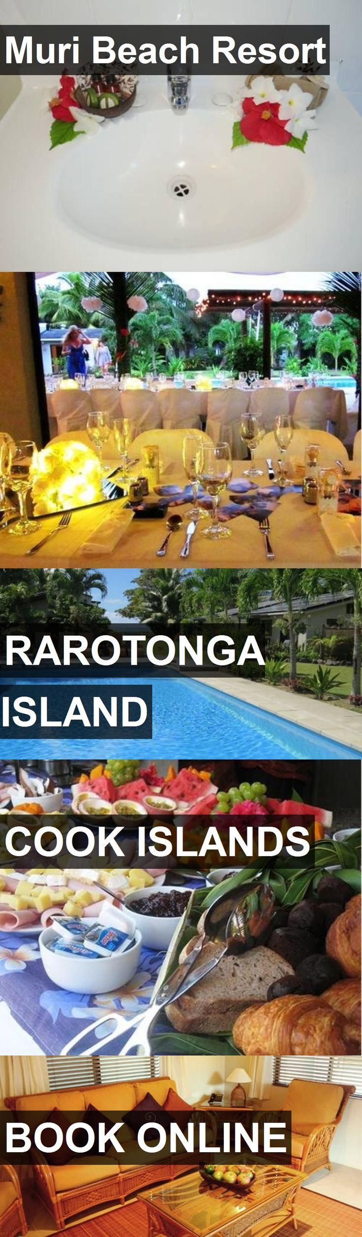Hotel Muri Beach Resort in Rarotonga Island, Cook Islands. For more information, photos, reviews and best prices please follow the link. #CookIslands #RarotongaIsland #travel #vacation #hotel