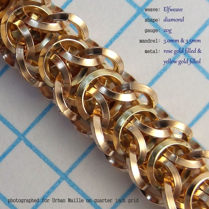 Elfweave Diamond | Rings and Kits for Making Chainmaille Jewelry from Urban Maille