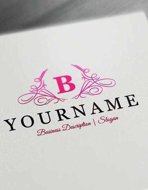 Design Free Logo Online: Initials Luxury Logo Template
