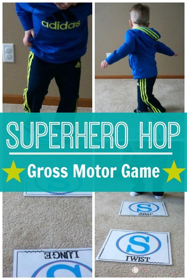 279 best movement gross motor skills activities for kids for Gross motor skills games