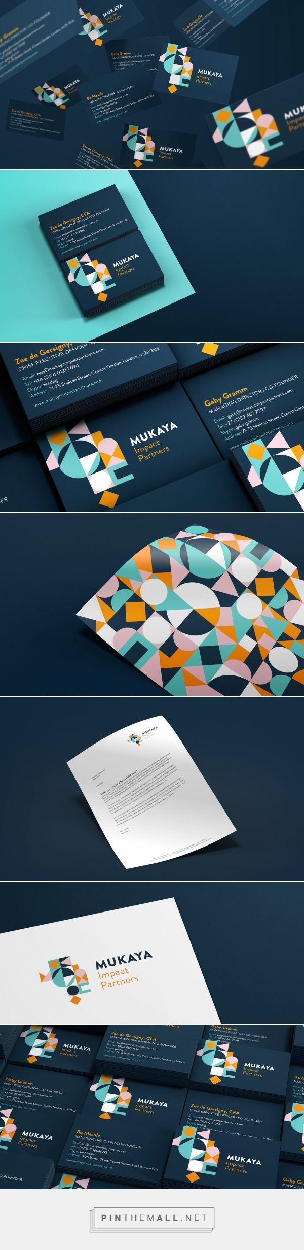 MUKAYA Impact Partners on Behance | Fivestar Branding – Design and Branding Agency & Inspiration Gallery
