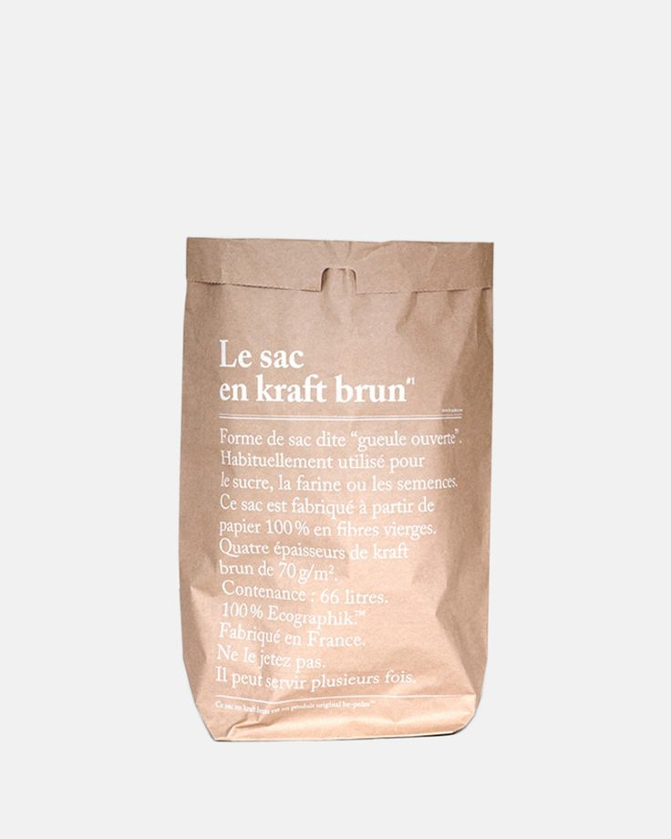 Le Sac En Kraft Brun by be-poles