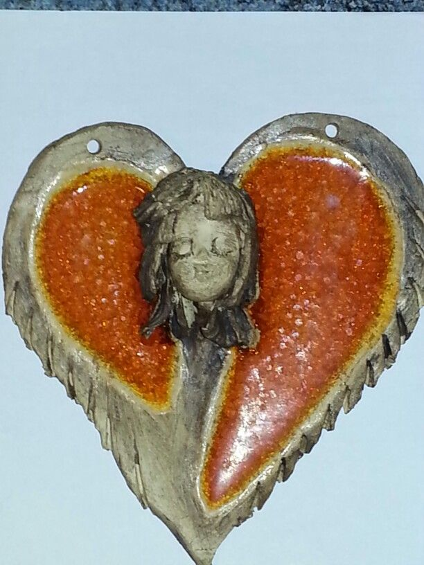 Oranžové srdce