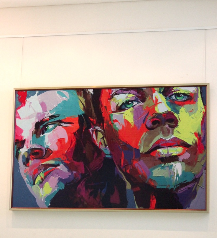 Oil Painting Printed on Quiet Acoustic Panel 2400mmx1200mm