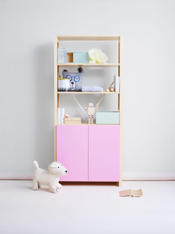 Elegant Storage for Kids Room