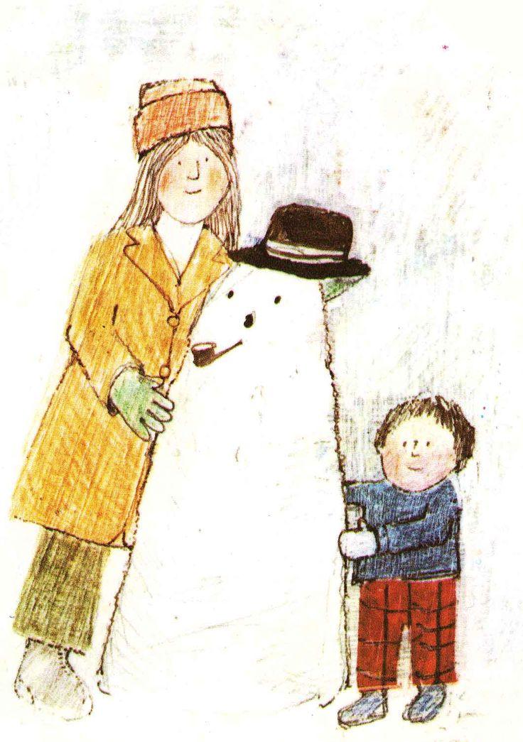Vintage Kids' Books My Kid Loves: The Snow