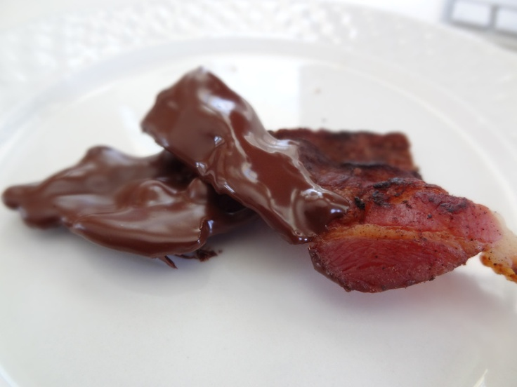 Chocolate Covered Bacon | Completed Pins | Pinterest