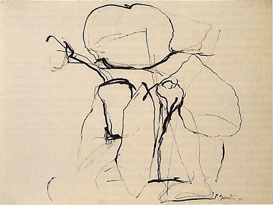 Philip Guston, Drawing 1960