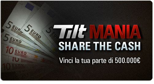 share the cash tilt mania 1-9 promotion -  #bonus: tilt mania #1st promotion – share the cash http://www.creepingmold.com/wordpress/2013/09/14/bonus-tilt-mania-1-promotion-share-the-cash/ 5000 weekly paid players - 200.000€ total prize #ff me