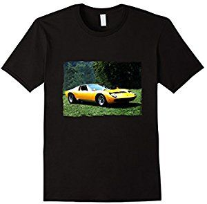This is an original full color classic Italian exotic sports car t-shirt in a watercolor effect. The 1969 Italian  Exotic Sports Car t-shirt is designed to be fitted. This beautiful 1969 Italian exotic t-shirt as a great gift for car enthusiasts.