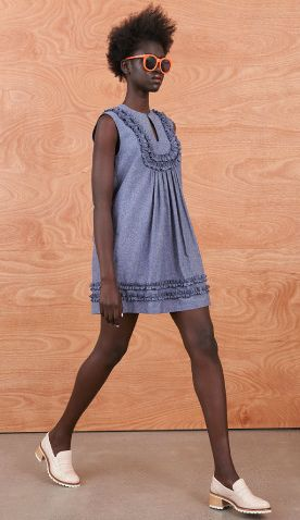 Racquet Ruffle Dress 'Domestic Fantastic' Resort Collection http://sistersandco.co.nz/products/kwracquetrufflesdress