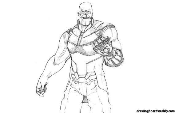 Fortnite Coloring Pages Thanos In Fortnite The Goal Is Quite