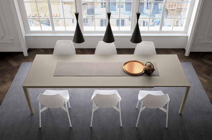 SOFFIO table designed by R&S PIANCA