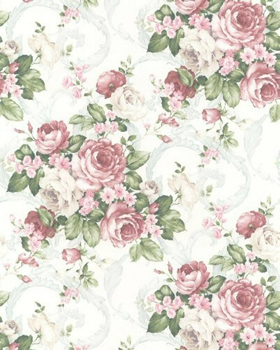 Vintage flower pattern | Background Pretty Paper ...