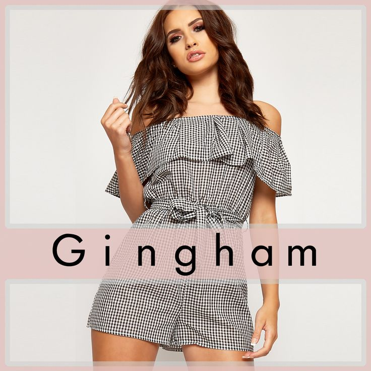 Shop Gingham mania @WearAll ! https://www.wearall.com/search/?q=gingham&x=19&y=27 #2017 #fashion #women #summer #photography #cute #sexy #print #OOTD #Outfit of the Day #style #inspiration #ss17 #casual #crop #boho #playsuit #jumpsuit