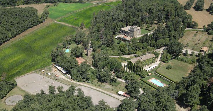 Santa Cristine castle