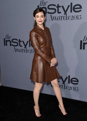 Emmy Rossum: Instyle Awards 2015 -25 - Posted on October 27, 2015