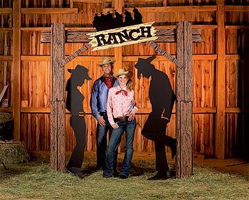 hoedown decorating ideas | western prom decorations - western decorations party supplies