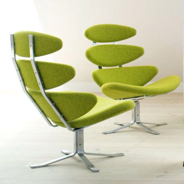 Corona lenestol Designer: Erik Jørgensen